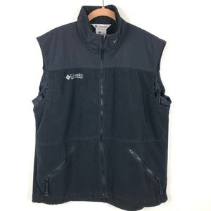 Columbia Titanium Fleece Black Vest L